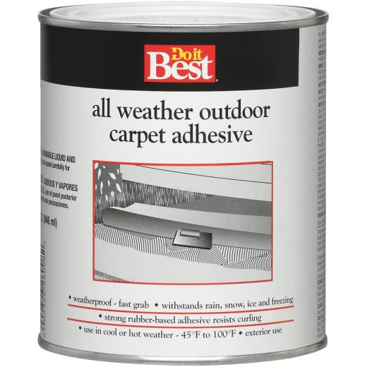 Do it Best All Weather Outdoor Carpet Adhesive, Quart