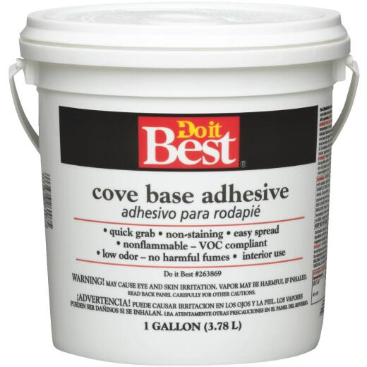 Do It Best 1 Gal. Buff Cove Base Adhesive