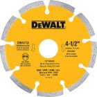 DeWalt Extended Performance  4-1/2 In. Turbo Segmented Rim Dry/Wet Cut Diamond Blade (Bulk) Image 1