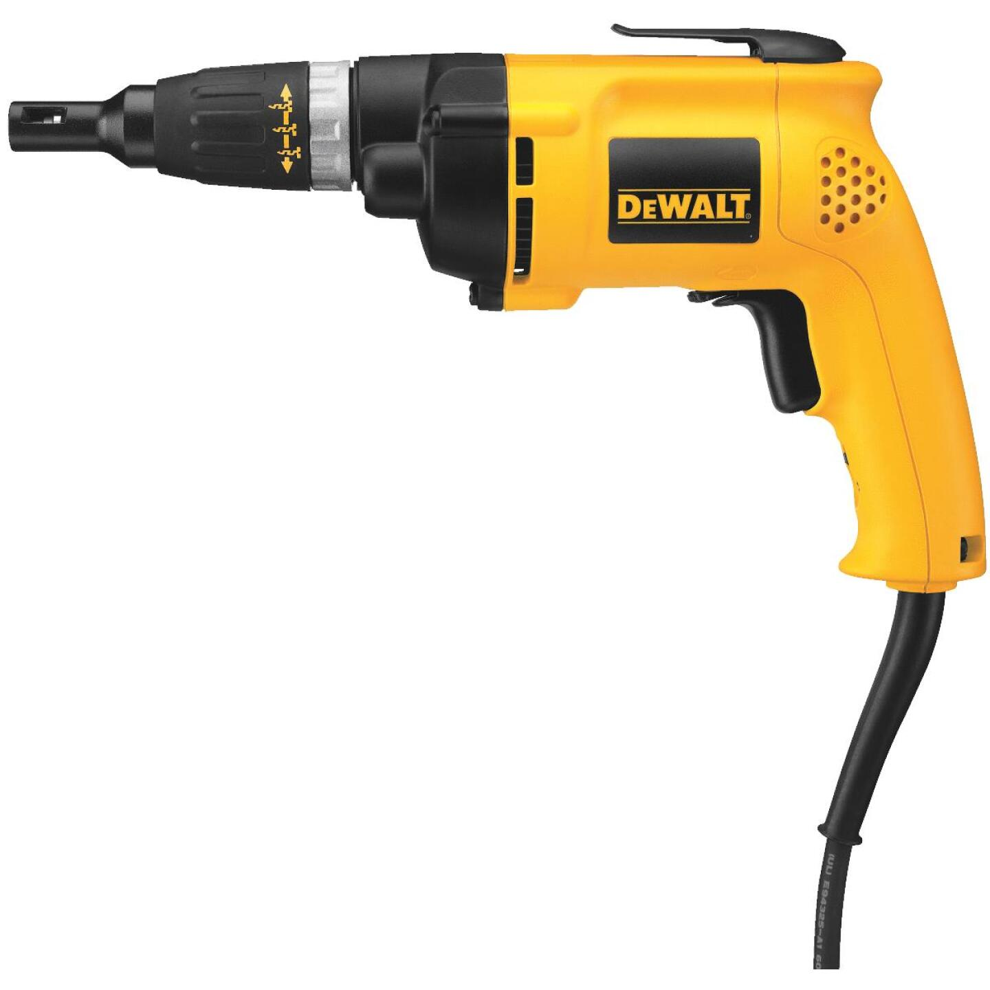 DeWalt 6A/2500 rpm #12 Electric Screwgun Image 1