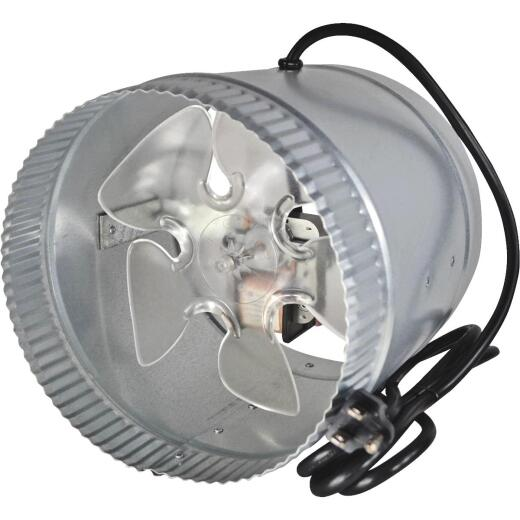 Suncourt 210 to 500 CFM 8 In. In-Line Duct Air Booster Fan