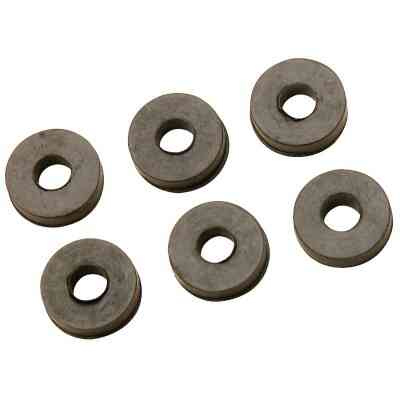 Do it 17/32 In. Black Flat Faucet Washer (6 Ct.)