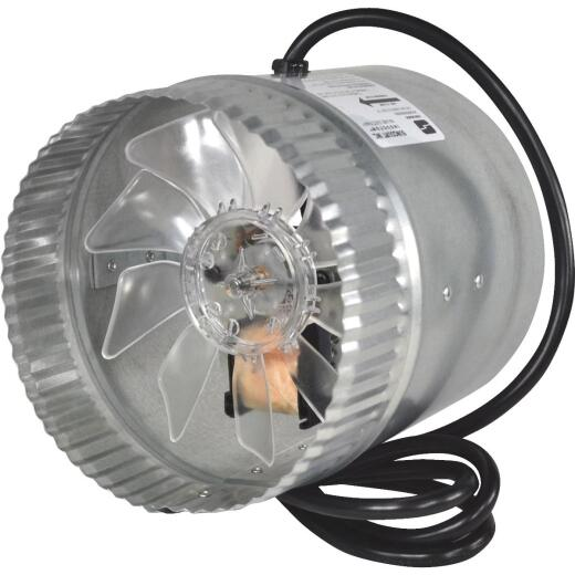 Suncourt 160 to 250 CFM 6 In. In-Line Duct Air Booster Fan