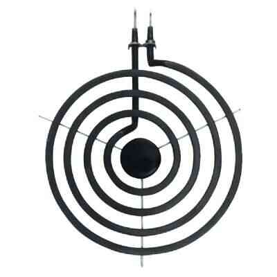 Range Kleen Style A & F 6 In. 3-Coil Plug-in Range Element with Y Bracket