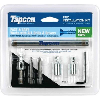 Tapcon Masonry Drill Bit Set (7-Pieces)