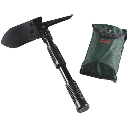 Coleman 16.25 In. Steel Folding Shovel with Pick